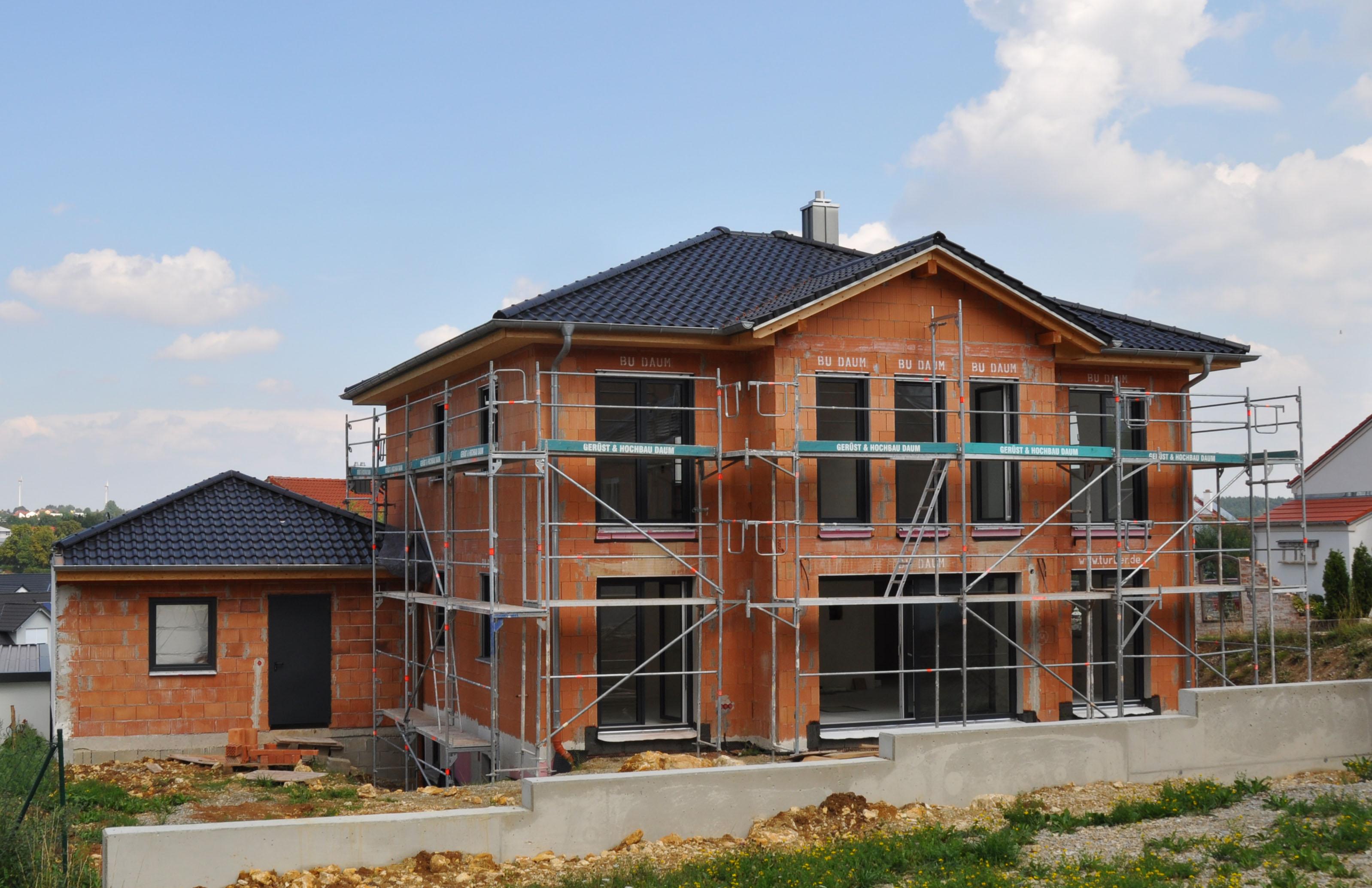 Einfamilienhaus neubau mit doppelgarage  Referenzen